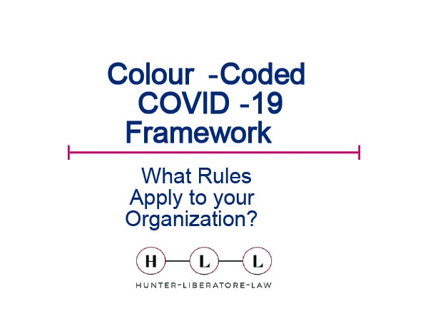 Color-coded COVID-19 Framework 1