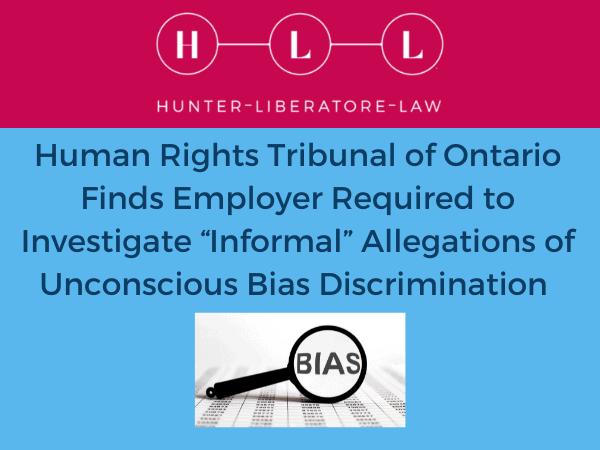 Graphic for HRTO Case re Gender Bias