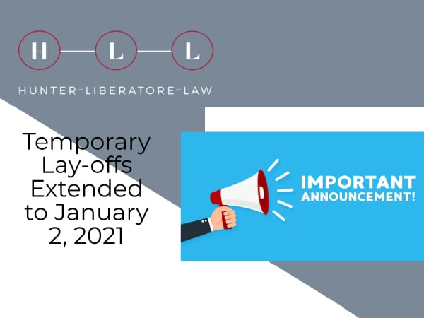 Temporary Lay'-Offs Extended
